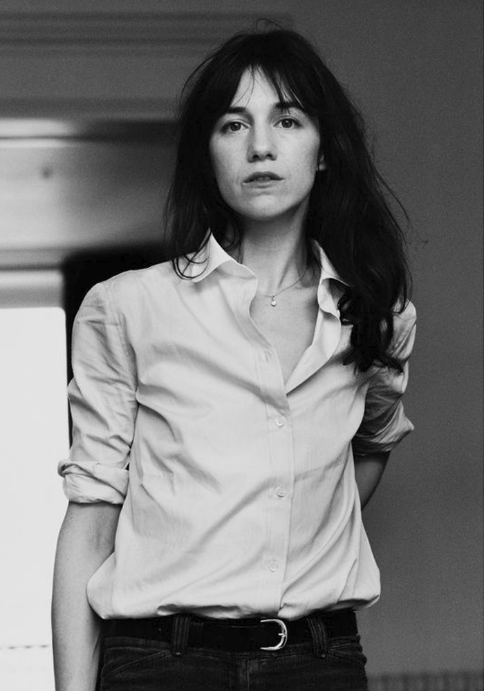 My friend Charlotte Gainsbourg