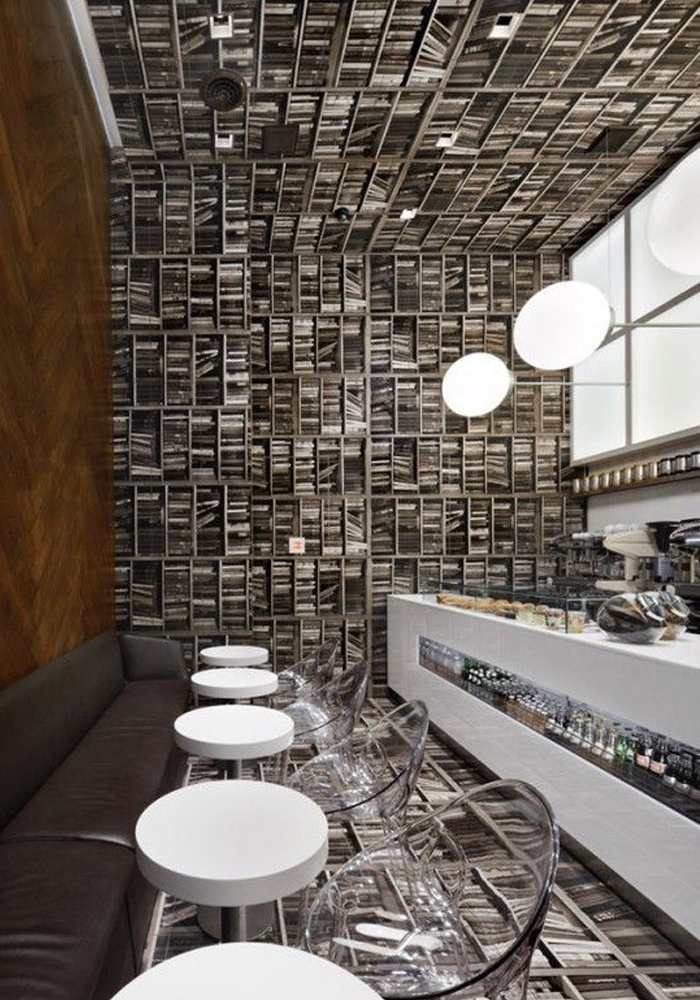 Espresso Cafe in Manhattan