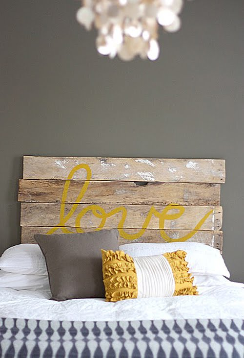 Diy Project Wooden Headboard Bodie And Fou