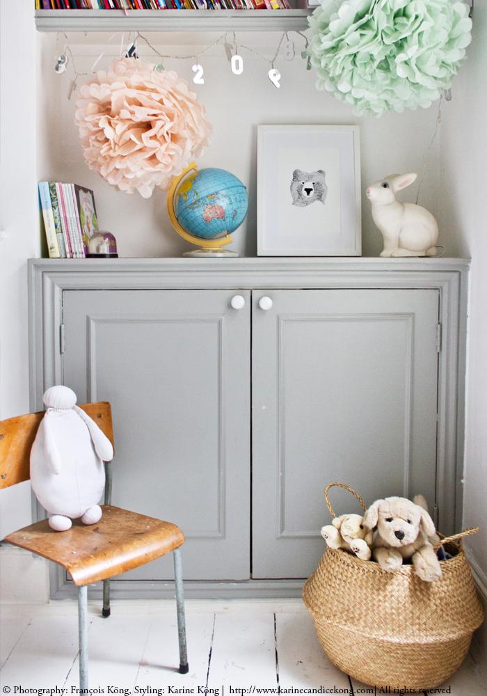 Mila's bedroom. © Photography: François Köng, Styling: Karine Köng | http://www.karinecandicekong.com| All rights reserved