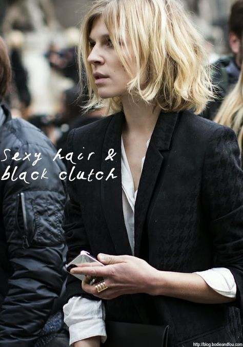 Clemence Poesy's sexy hair. More on www.karinecandicekong.com