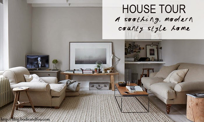 A SOOTHING, MODERN COUNTRY STYLE HOME