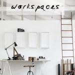 5 inspiring white workspaces