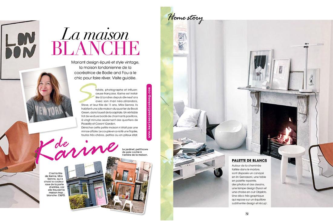 Karine Köng, Blogger & Photographer in As you Like magazine, Feb' 2017
