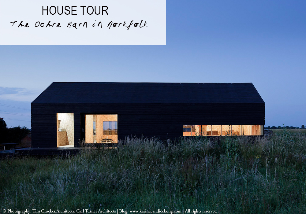 House Tour: The Ochre Barn in Norfolk