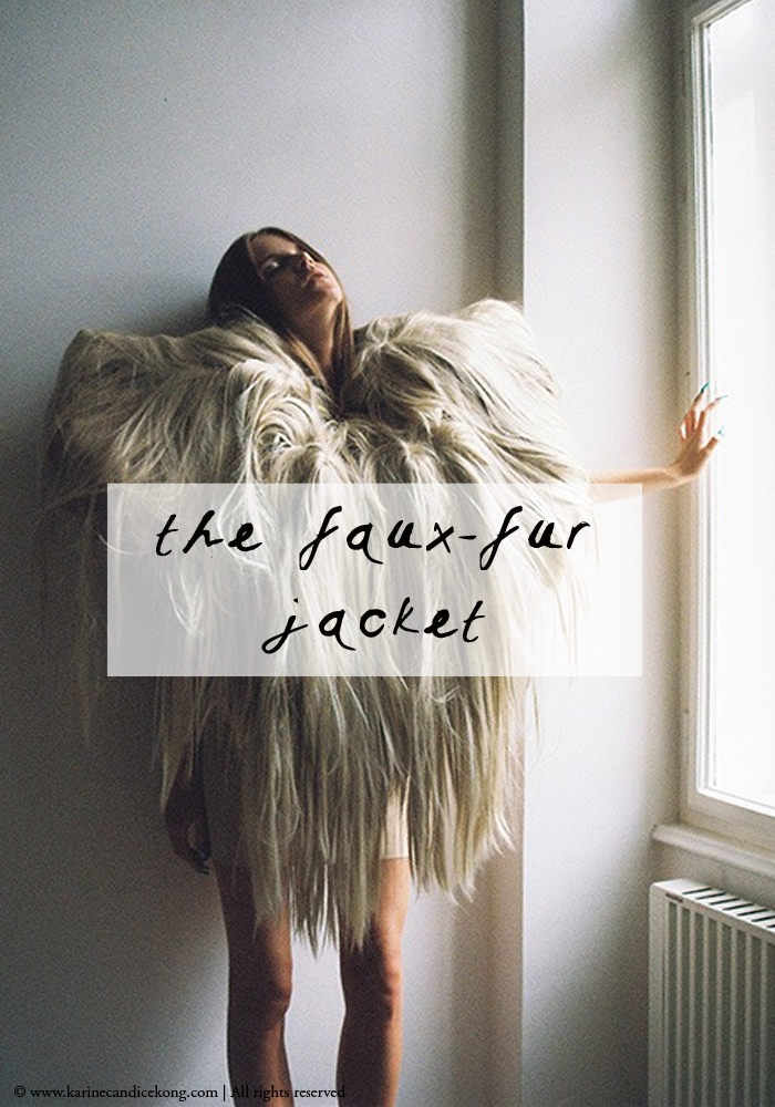 the faux-fur jacket | Outfit perfection