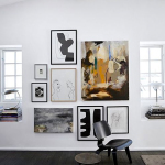 Wall decoration: 5 ways to display art on your walls