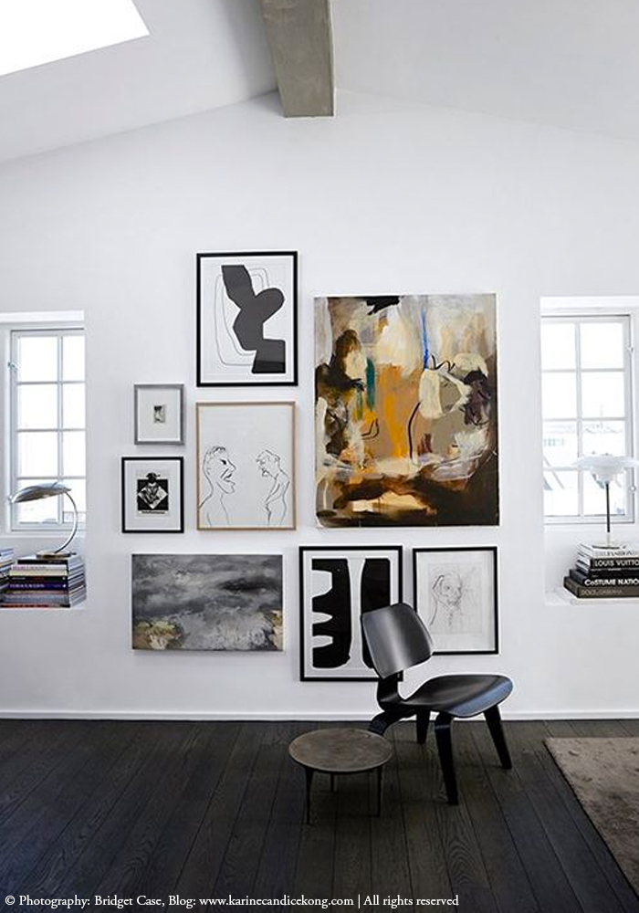 5 inspiring ways to display your art collection in your home