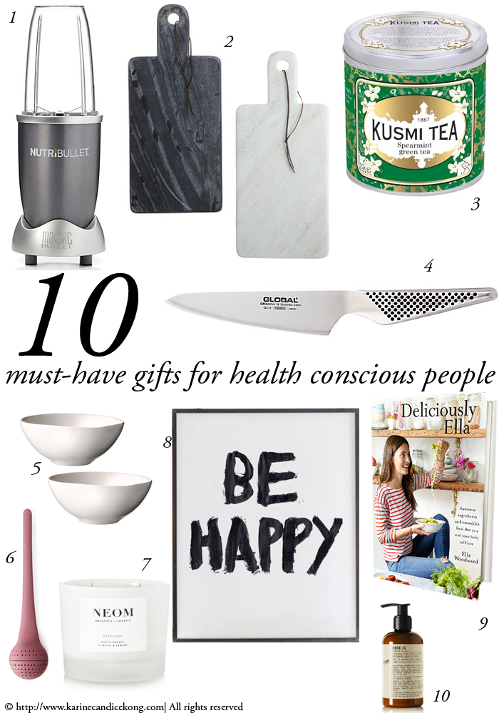 10 must-have gifts for health-conscious people