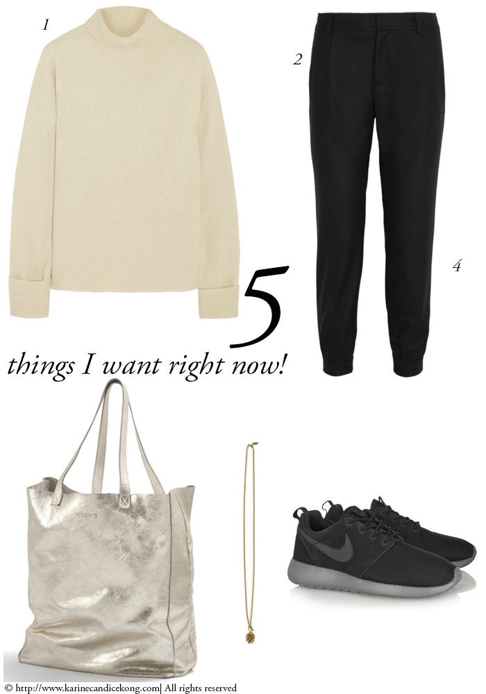 5 things I want right now! 12th December 2014