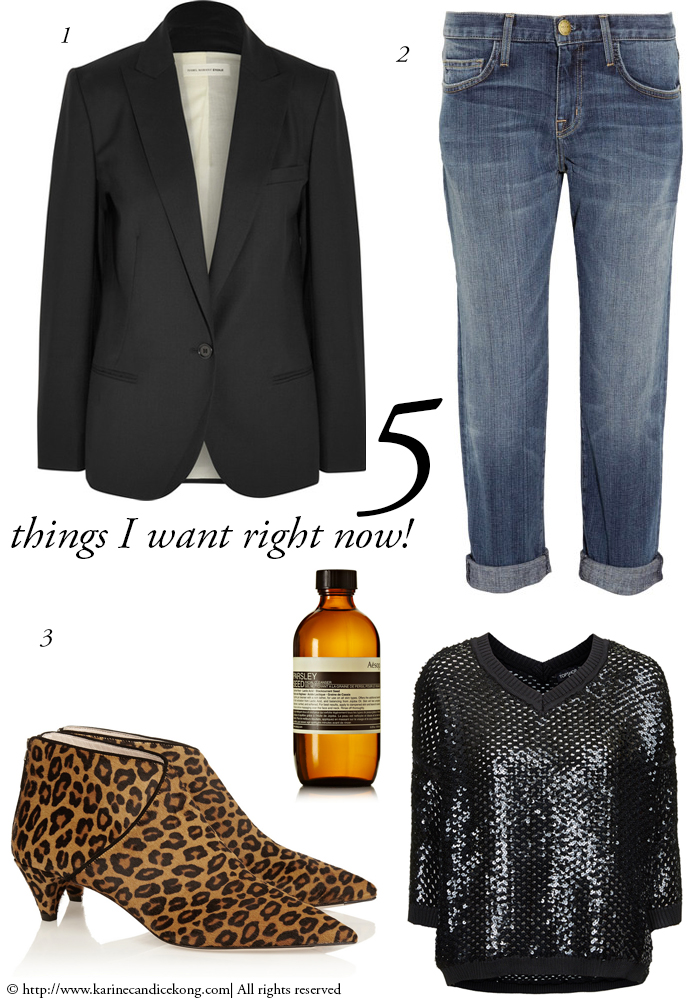 5 THINGS I WANT RIGHT NOW! 18 December 2014
