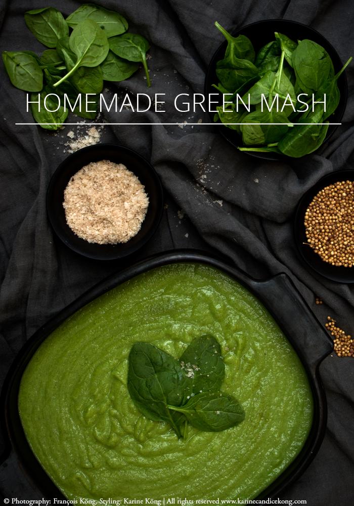 healthy & yummy homemade green mash