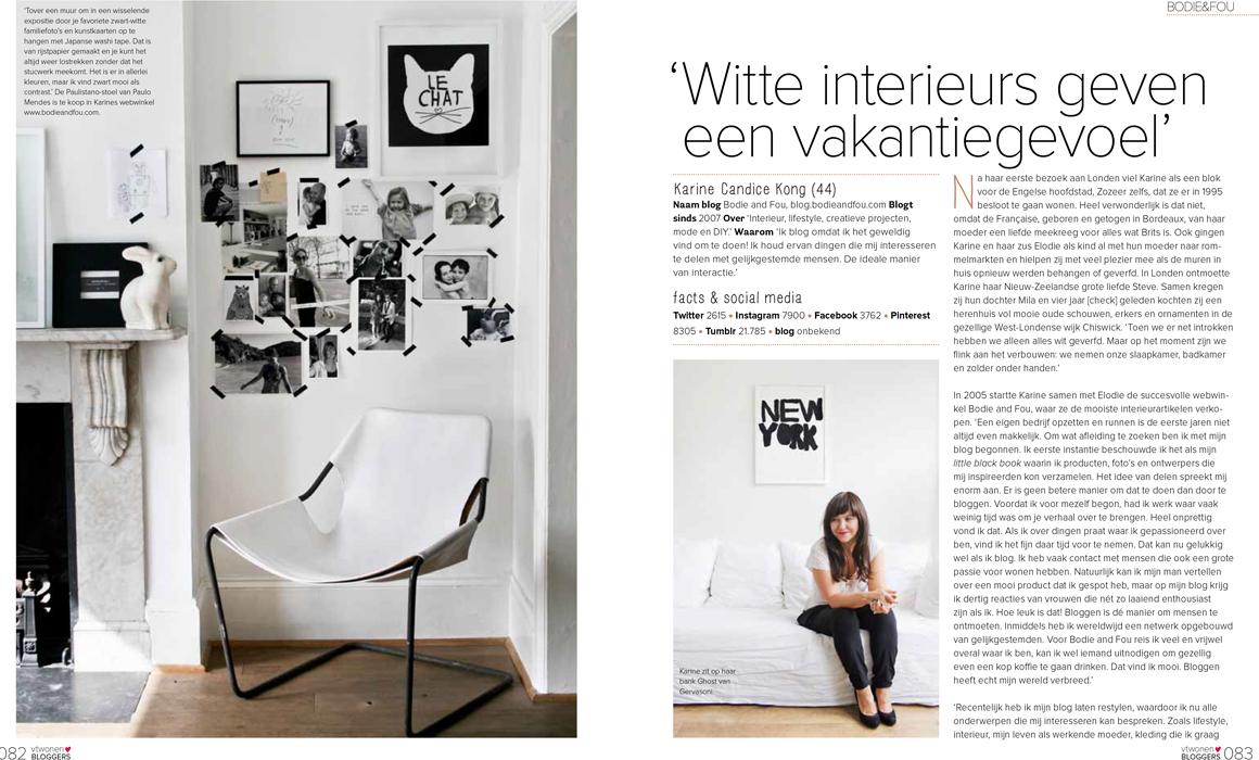 Karine Candice Kong, Blogueuse, Styliste ds VT Wonen