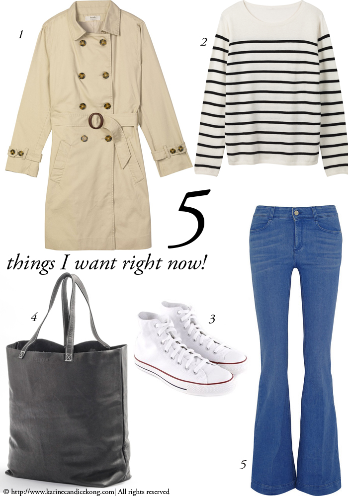 5 THINGS I WANT RIGHT NOW! 13/02/2015