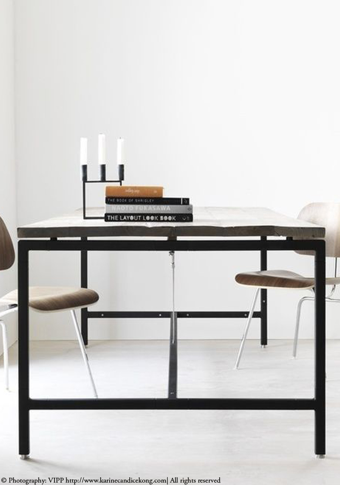 5 minimalist, stylish dining tables. Read on >> www.karinecandicekong.com