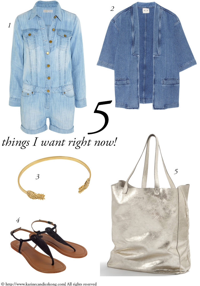5 THINGS I WANT RIGHT NOW! 10/04/2015 www.karinecandicekong.com