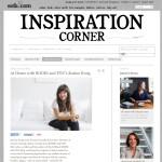 Interview in Sofa.com's Inspiration corner