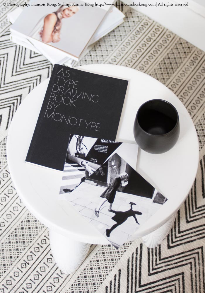 Styling, textures, monochrome. Read on www.karinecandicekong.com