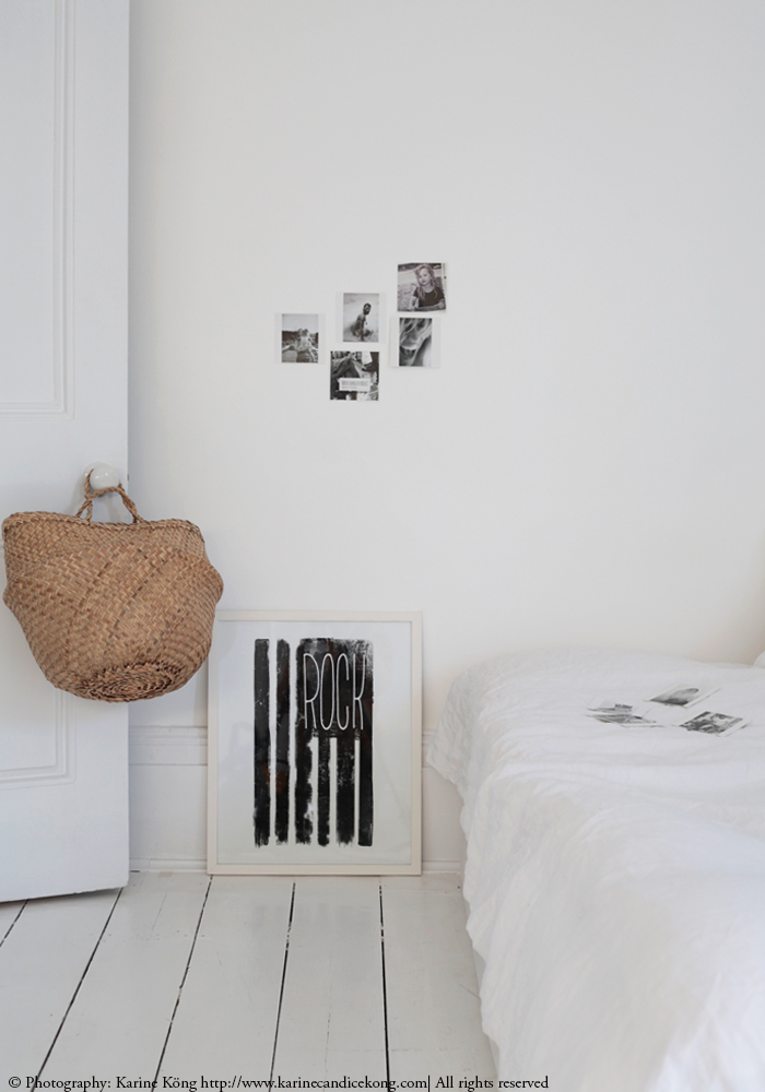 Our white bedroom update