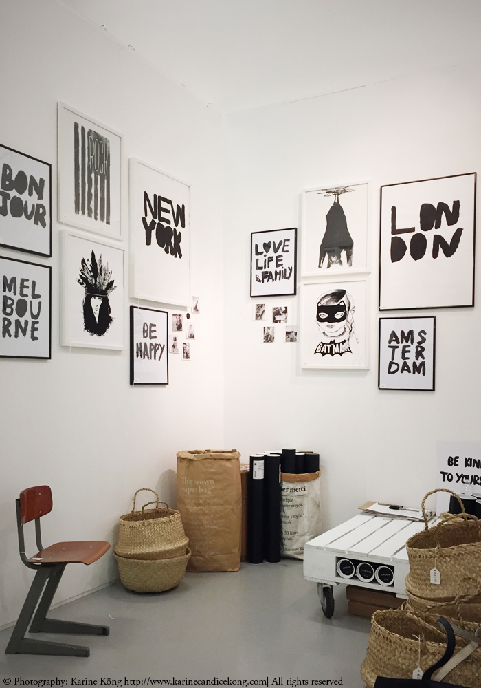 BODIE and FOU gallery wall at at Design Junction