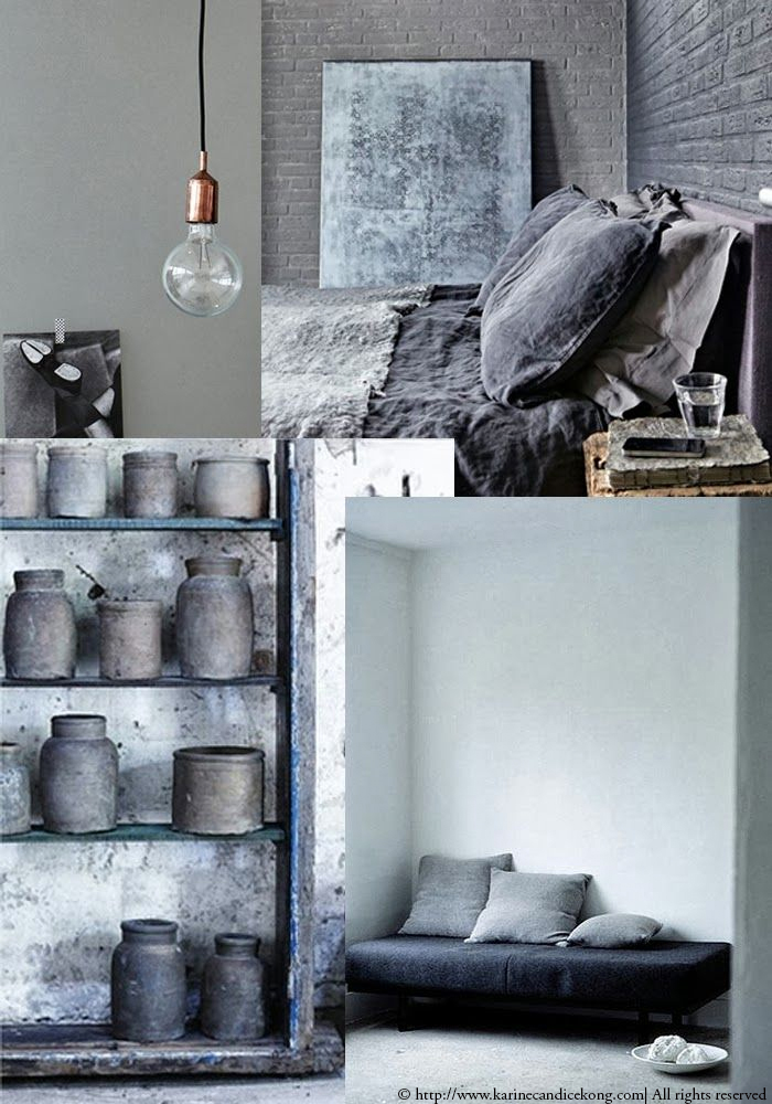 B+F MOODBOARD, 50 shades of greys >> www.karinecandicekong.com