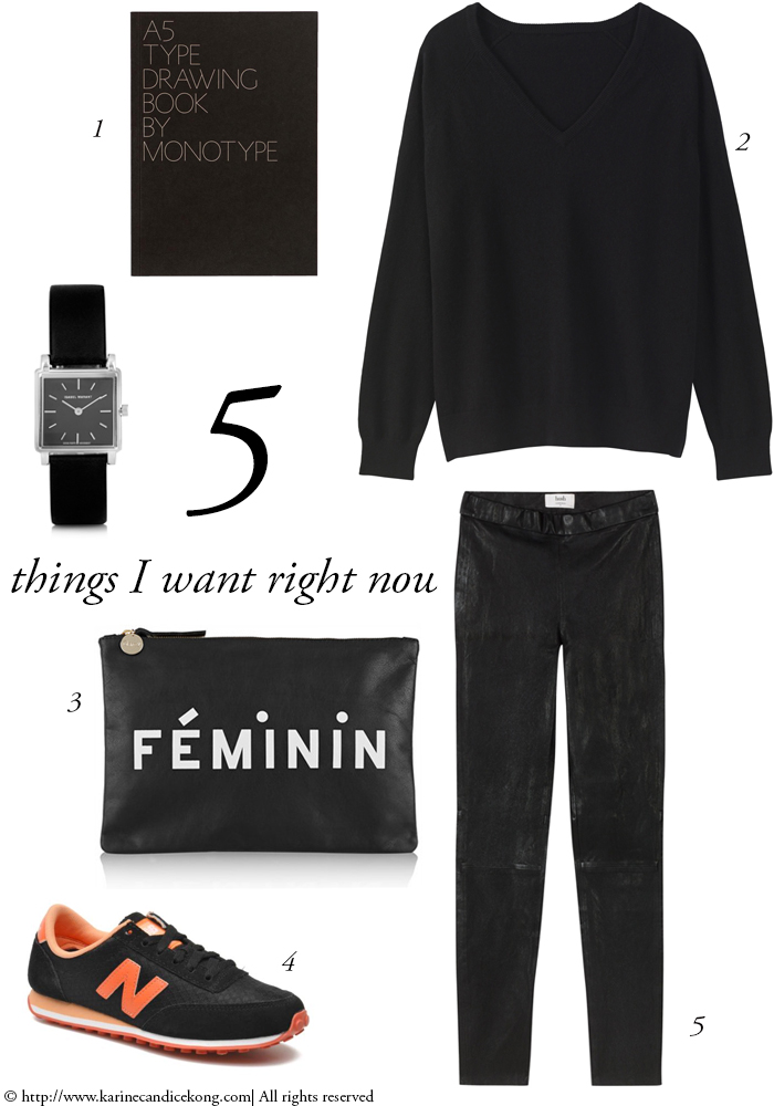 5 things you want right now for the weekend. Read on www.karinecandicekong.com