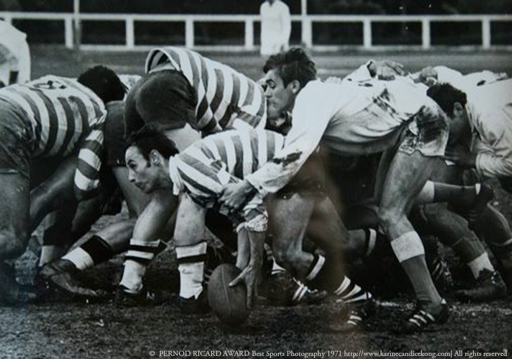 My dad PERNOD RICARD AWARD Best Sports photography 1971