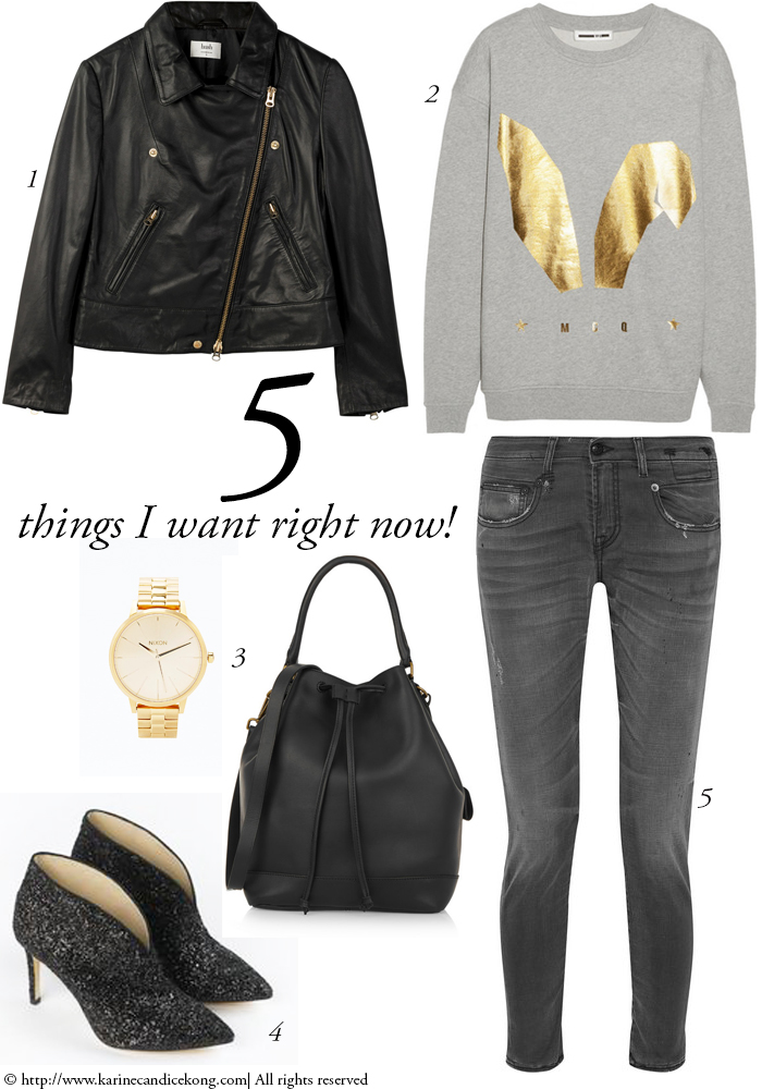 5 Things I want right now to rock the streets of Paris #jesuisparis