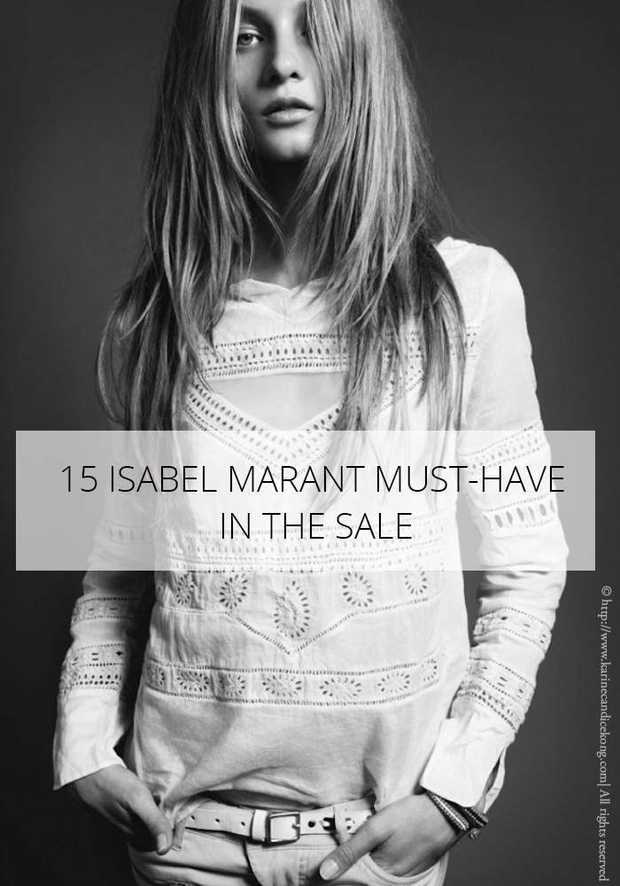 15 ISABEL MARANT MUST-HAVES IN THE SALE