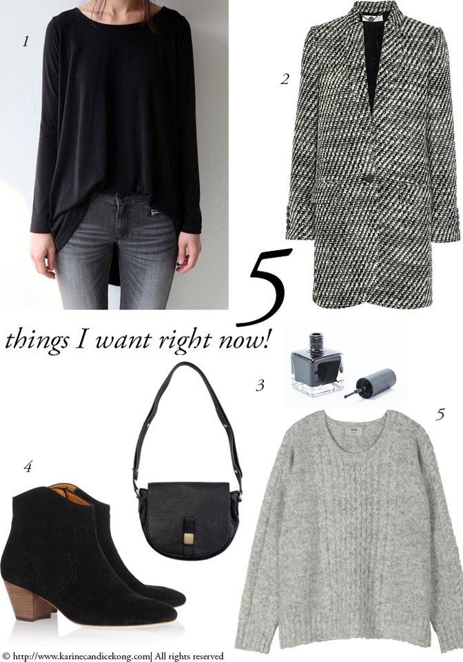 5 things you want right now! 29/01/2016