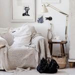 A cosy, natural corner
