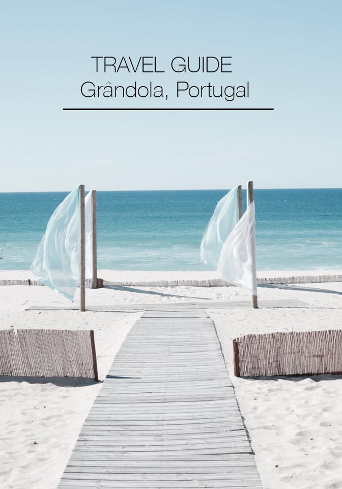 Travel Guide to Grândola, Portugal