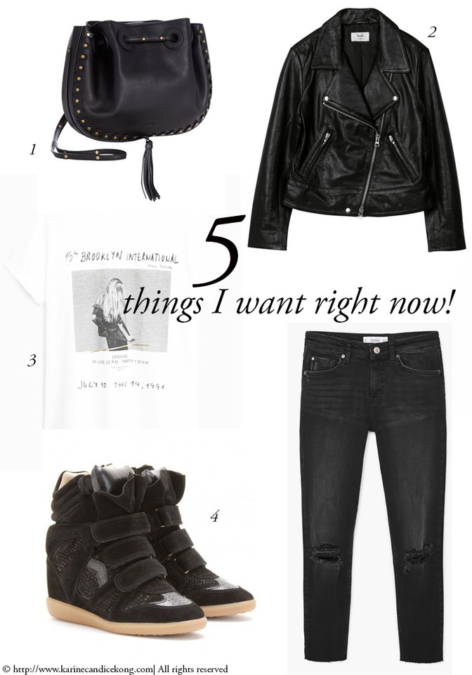 5 Things You Want Right Now! Rock chic look