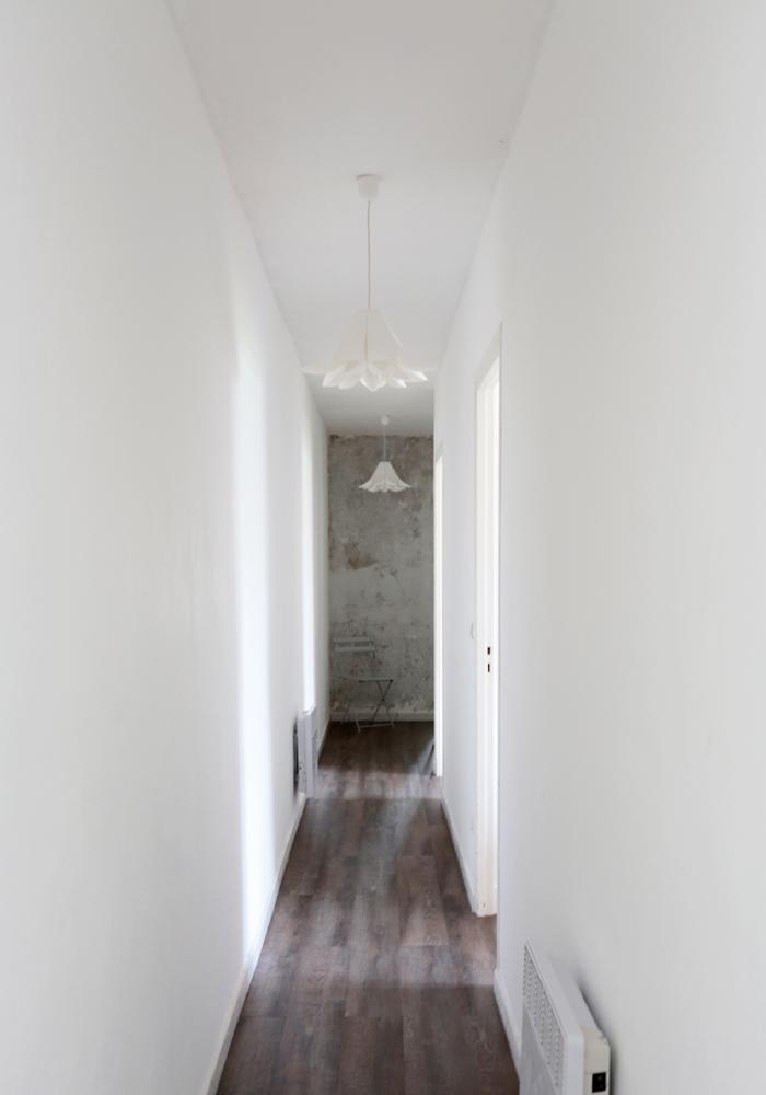 R novations d 39 un couloir avant apres for Idee renovation couloir