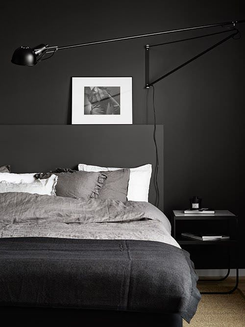 dark grey bedroom 2 - Dark Grey Bedroom