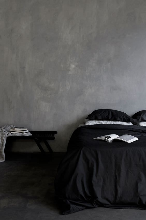 3 beautiful dark on dark bedrooms to inspire you