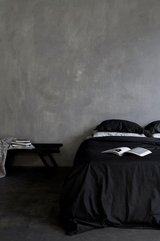 3 beautiful dark on dark bedrooms to inspire you