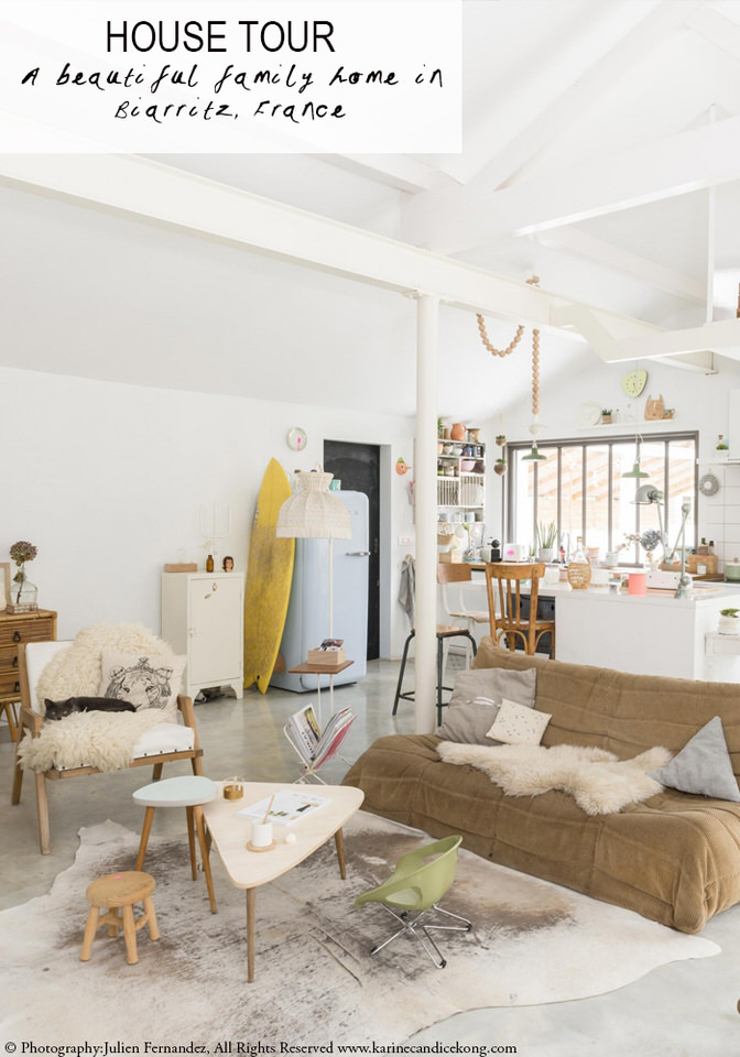 A beautiful family home in Biarritz, France