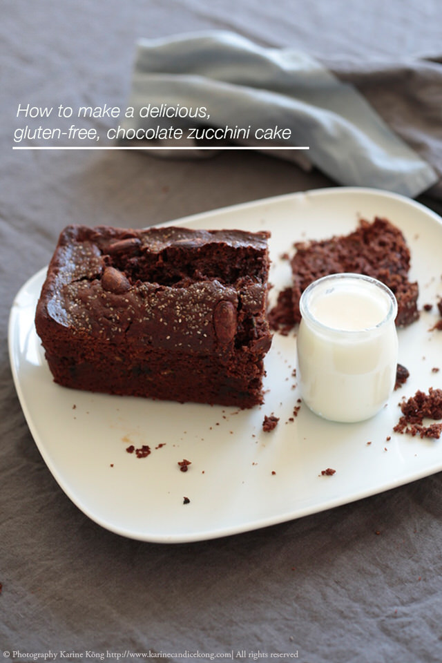 How to make a delicious, gluten-free chocolate zucchini cake