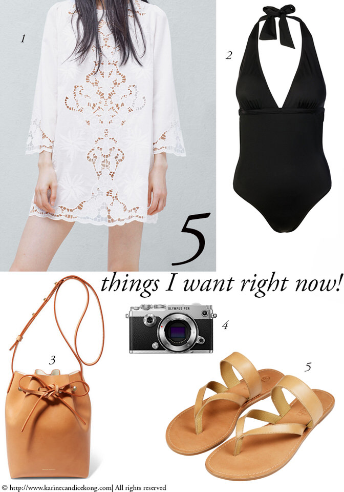 5 Things I want Right Now for Summer