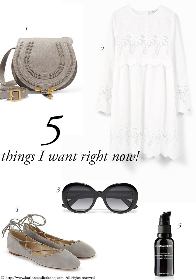 5 Things You Want Right Now for a sunny weekend