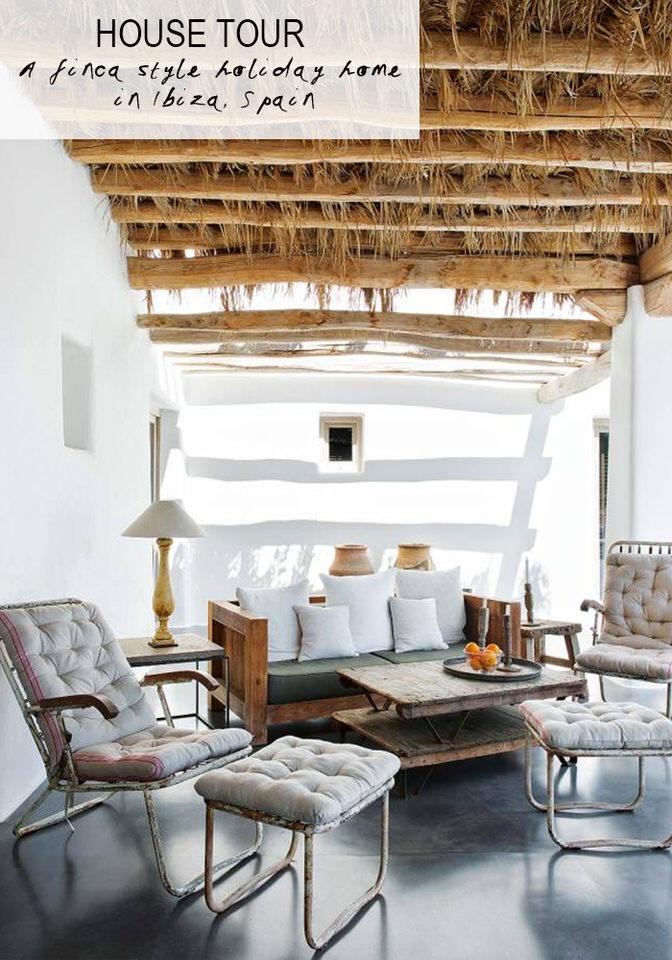Jasmine Terrace: Holiday Home In Ibiza Finca Style
