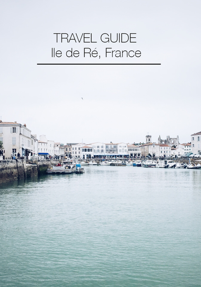 Travelling to l'ile de Ré, France