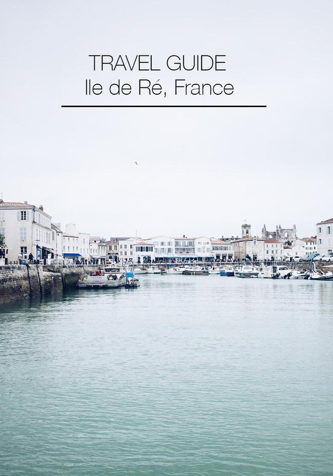 Travelling to l'ile de Ré, France