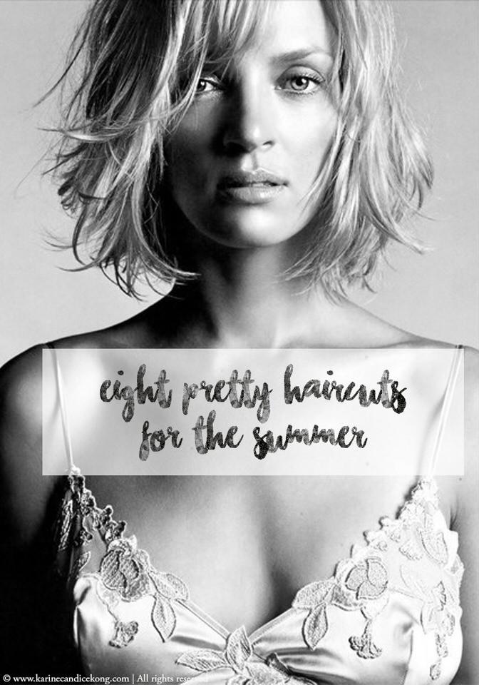 8 coupes de cheveux pour l'été