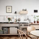 A minimalist plywood kitchen