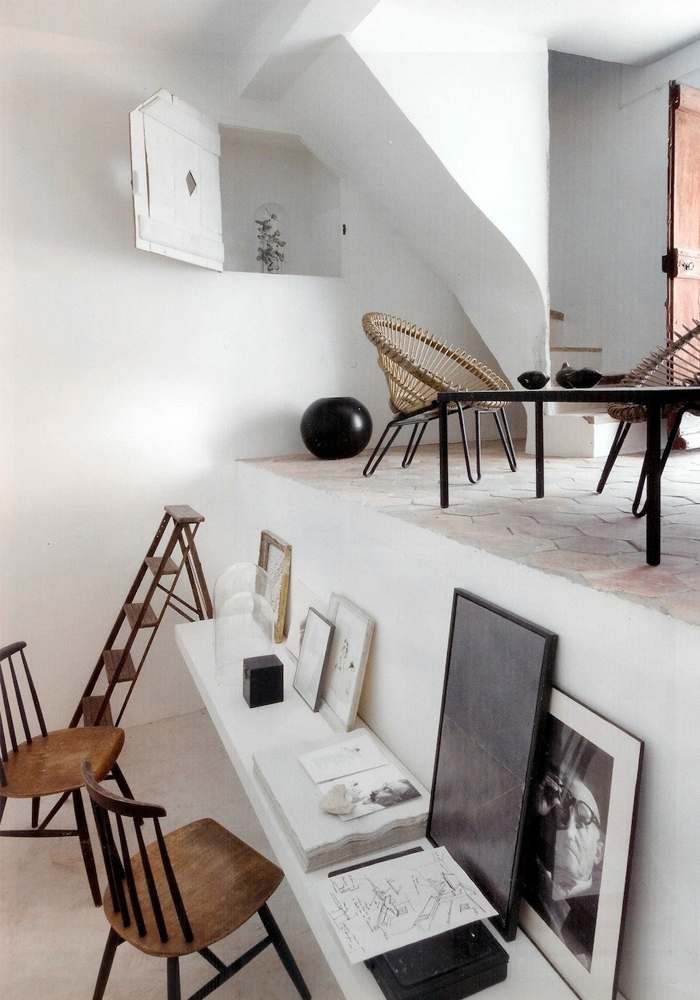 The home office of Jacqueline Morabito