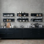 The Vipp kitchen in a Manhattan creative agency