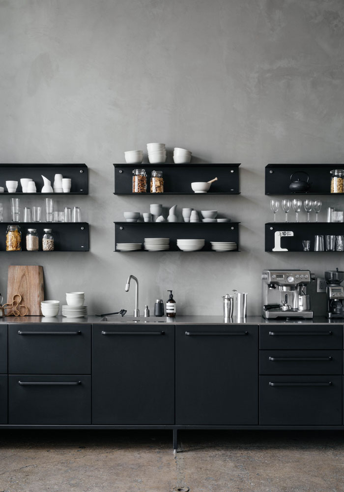 Vipp kitchen in a Manhattan creative agency 3