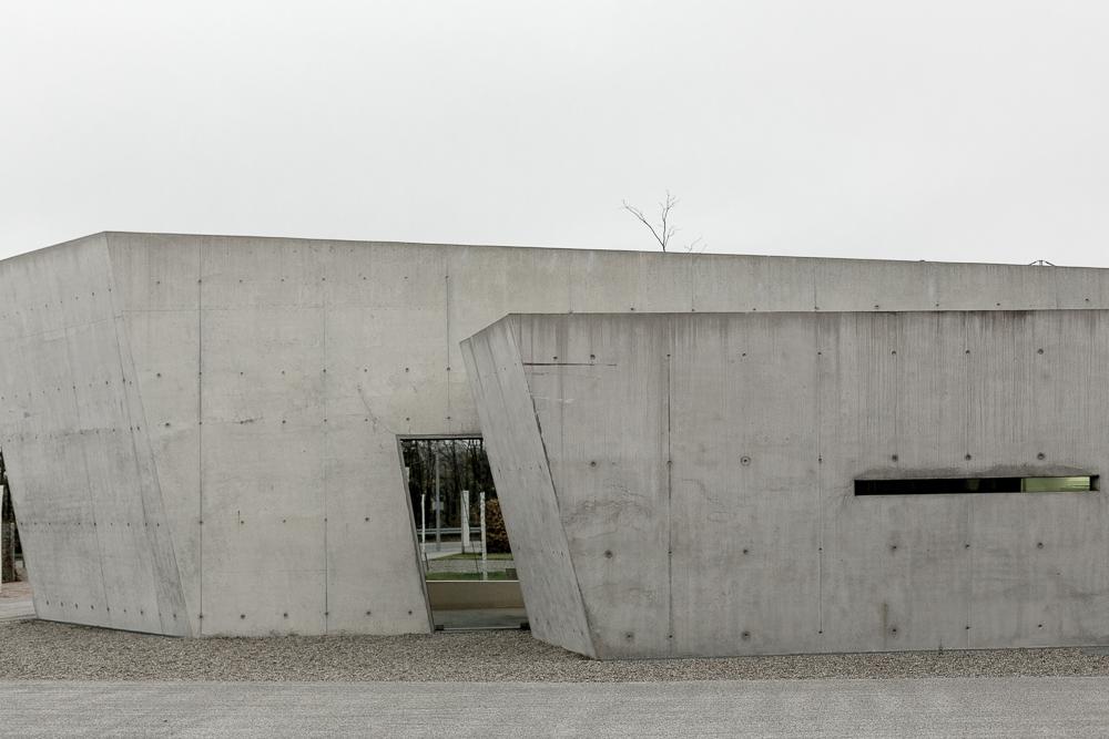 Vitra Campus: Vitra Fire station designed by Zaha Hadid, 1993